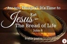 Are you Hungry?  It's Time to Eat