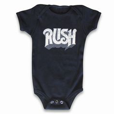 Rush Baby Original Onesie - Rush Backstage Club