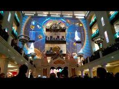 Световое шоу Центральный Детский Магазин на Лубянке - YouTube