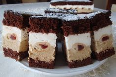Cannoli Cake Recipe - the best cannoli cake with simple ingredients that can easily be made from scratch Cake Recipes, Dessert Recipes, Desserts, Cannoli Cake, Polish Recipes, Polish Food, Types Of Cakes, Food Cakes, Baking Tips