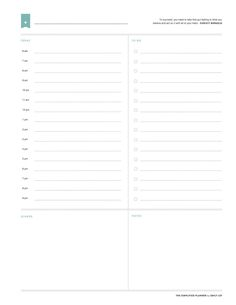 10 best undated calendar planner printables images free printables