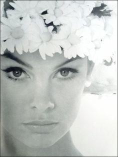 Jean Shrimpton in Vogue UK June 1962 photographed by David Bailey Thanks to Jane Davis