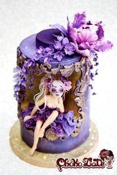 """""""Dia de los Muertos"""" Cake"""