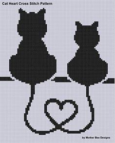 cross stitch patterns cat - Google Search