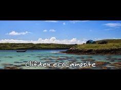Wild Atlantic Way eco Camping Clifden Connemara Ireland Connemara Ireland, Beach Camping, Atlantic Ocean, Mountain Range, Ecology, National Parks, Beautiful, Environmental Science