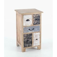 Piccadilly Shabby Chic Painted Bedside Cabinet