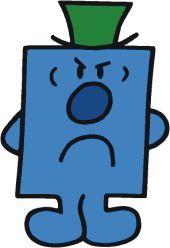 Mr Grumpy very mean!