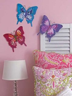 free plastic canvas butterfly patterns - Google Search