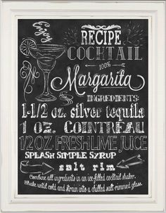 Wall Art Kitchen Chalkboard Print by TimelessMemoryPrints on Etsy, $20.00
