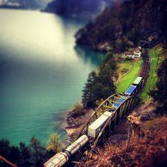 Gotthard railway Around The Worlds, Train, Art, Art Background, Kunst, Performing Arts, Strollers, Art Education Resources, Artworks