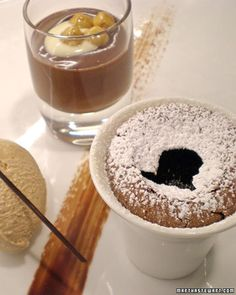 This delicious recipe for warm chocolate cake is courtesy of Michael Laiskonis.