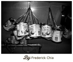 Frederick shared a picture of these tins that were recycled for takeaway orders in the old days. #sgmemory