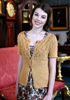 Free Knitting Patterns: Free Knitting Pattern: Gaia Sweater
