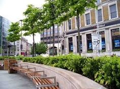 Image result for public outdoor eating area