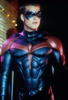 Remember Robin and Batman with the nipples on the suit.