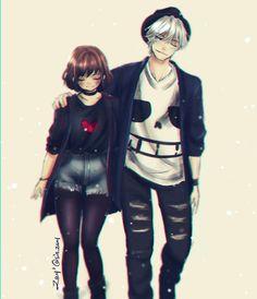 Sans X Frisk Undertale Undertale Comic Funny, Anime Undertale, Undertale Memes, Undertale Ships, Undertale Drawings, Undertale Cute, Undertale Cosplay, Sans E Frisk, Sans X Frisk Comic