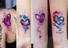 Hand Tattoos For Girls, Best Couple Tattoos, Tattoos For Daughters, Sister Tattoos, Tattoos For Women, Infinity Tattoos, Wrist Tattoos, Body Art Tattoos, Sleeve Tattoos