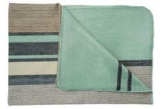Blanket, Seafoam on OneKingsLane.com