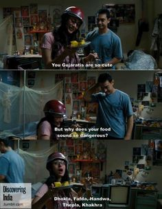 A funny scene from 3 Idiots...I have seen this movie SO many times