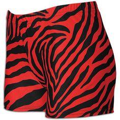 "Funkadelic Sport 2.5"" Compression Short - Women's - Red Zebra"