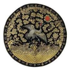 japanese crane embroidery - Google Search