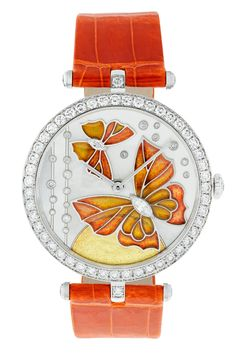 Van Cleef & Arpels Papillon watch from the 2013 collection.