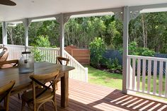 Holiday Home Reveal: Rear Deck (Zone - Photos - House Rules - Official site House Rules, 4 Photos, Exterior Design, Deck, Australia, Patio, Tv, Outdoor Decor, Holiday