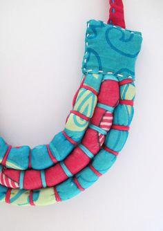 Custom Made Three Bound Strand Necklace (Baby Friendly)