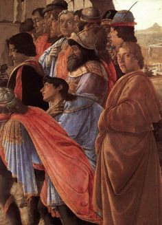 Second Terrace: The adoration of the konvertsky
