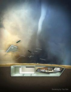 An Erupting Stability: Tornado Proof Suburb / 10 DESIGN