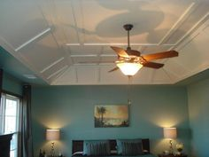 Coffered Ceiling. Image Detail For  Master Bedroom With Modern Coffered Tray  Ceiling Part 90