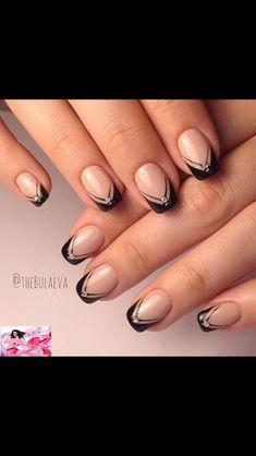 Manicure Nail Designs, French Manicure Nails, Nail Art Designs, Elegant, Stylish, Beauty, Art Nails, Nail Ideas, Classy
