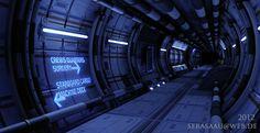 UDK Sci-Fi Environment by Sickbert