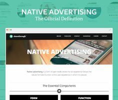 Native Advertising: The Official Definition Native Advertising, 404 Page, Definitions, Nativity, Ads, Marketing, The Nativity, Birth