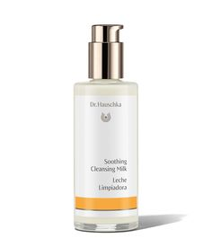 """Dr. Hauschka Soothing Cleansing Milk: """"Appropriate for all skin types, especially those with fragile and or sensitive skin, this all-natural milky cleanser removes impurities and makeup without stripping the skin of moisture."""""""