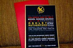 Hunger Games Bridal Shower