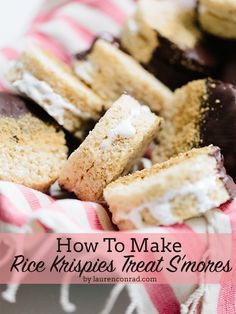 Rice Krispies Treat S'mores