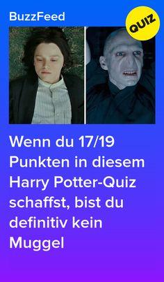 Wenn du 17/19 Punkten in diesem Harry Potter-Quiz schaffst, bist du definitiv kein Muggel Harry Potter Quiz, Harry Potter Haus Test, Literature Quiz, Jarry Potter, Love You, My Love, Diy, Crafts, Deutsch