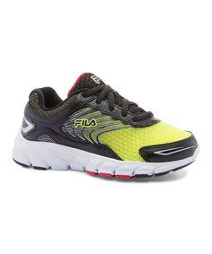 Yellow & Black Maranello 4 Running Shoe