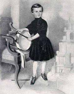 Ludwig II als Kind