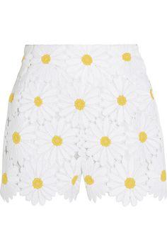 Dolce & Gabbana   Macramé lace shorts   NET-A-PORTER.COM
