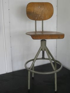 http://www.pigeonvintage.co.uk/pieces/industrial-belgian-post-office-stools/