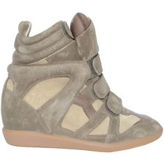 Isabel Marant High-top sneakers Bekett suede found on Polyvore