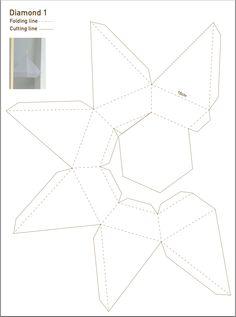diamond template - 101 woonideeen.