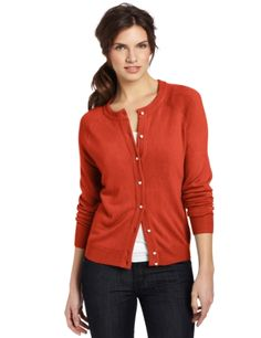 Sag Harbor Women's Cardigan Long Sleeve Cashmerlon « Clothing Impulse