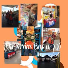 Home services event at the Pecos Home Depot in Las Vegas! Our next big one is in October!!!