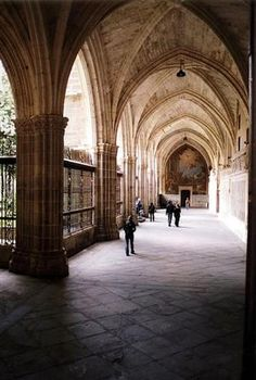 Cloister of cathedral - Toledo, Spain  | by © Peter...