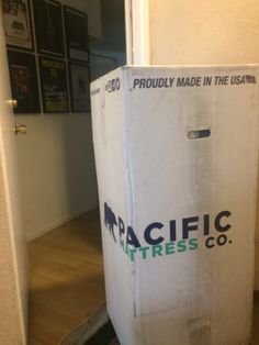 Another online mattress delivered from Pacific Mattress Co.