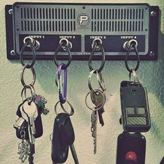 Guitar Amplifier Key Holder