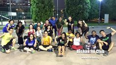 Bishan fit club warriors!